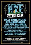 NYE on the Hill 2017 - Part 1 Lineup Announce - Web Poster